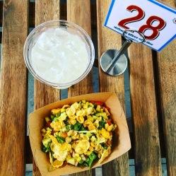 Nimbu Pani and corn bhel