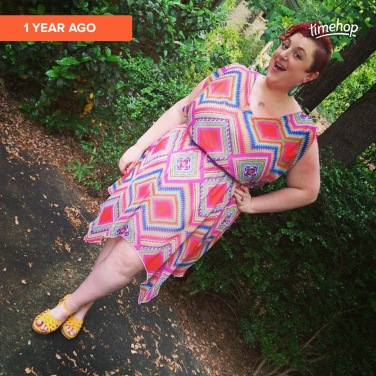 Dress was from Ross, shoes from Amazon (Skechers brand), and the earrings are still my beloved from It's Fashion.