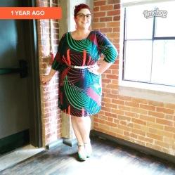 Gwynnie Bee dress, Amazon Belt, Miz Mooz shoes