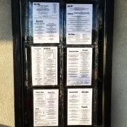 Big ass menu