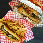 Philly & fries + Italian beef